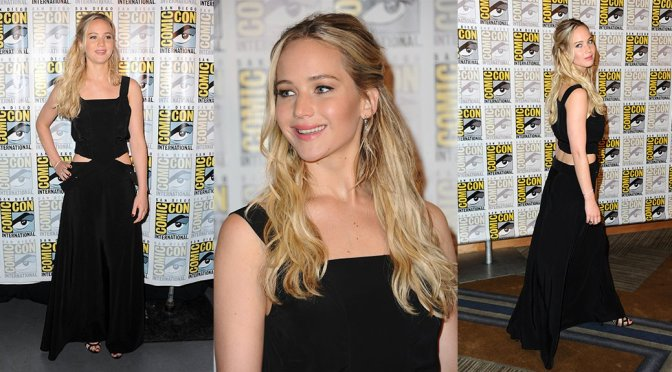 "Jennifer Lawrence – ""Hunger Games: Mockingjay Part 2"" Event at Comic Con"