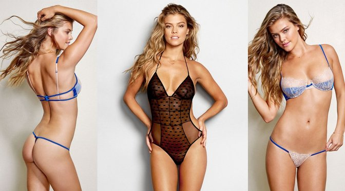 Nina Agdal – Beach Bunny Love Haus Collection 2015