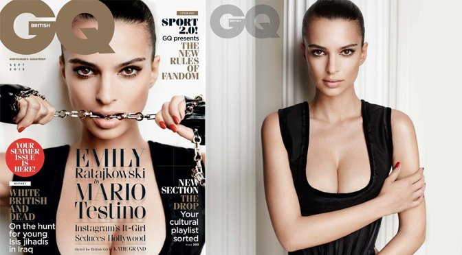 Emily Ratajkowski – GQ Magazine (September 2015)
