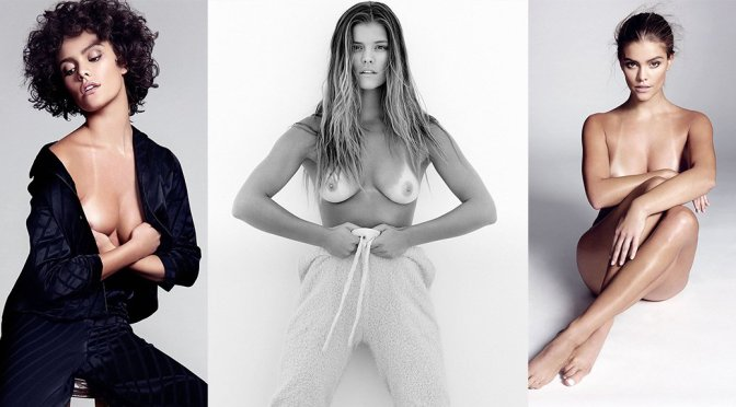 "Nina Agdal – ""Yu (Tsai) and Me"" SI Daily Topless Photoshoot (NSFW)"