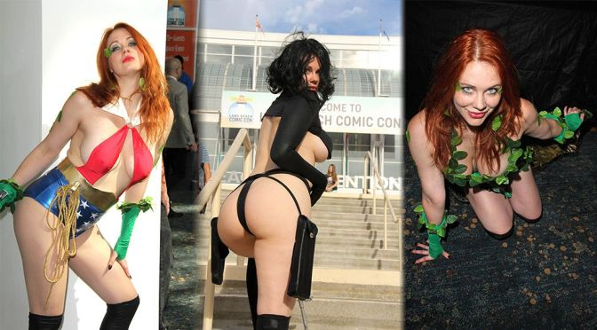 Maitland Ward – Long Beach Comic Con in Long Beach