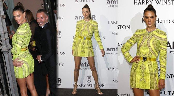 Alessandra Ambrosio – amfAR Gala in Milan