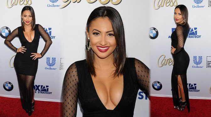 Francia Raisa – Latina Hot List Party in West Hollywood