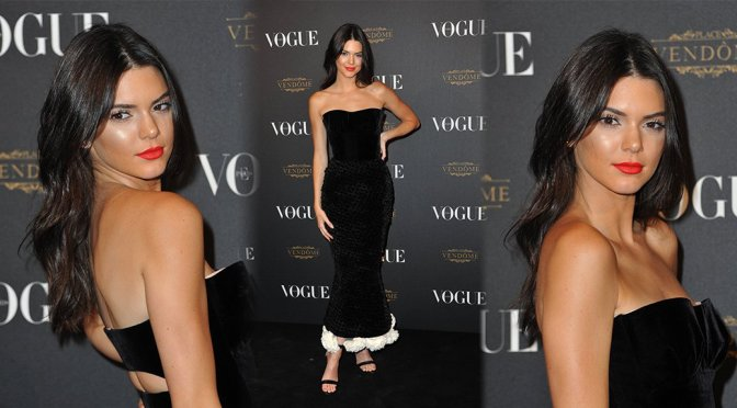 Kendall Jenner – Vogue 95th Anniversary Party in Paris