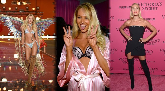 Candice Swanepoel – 2015 Victoria's Secret Fashion Show