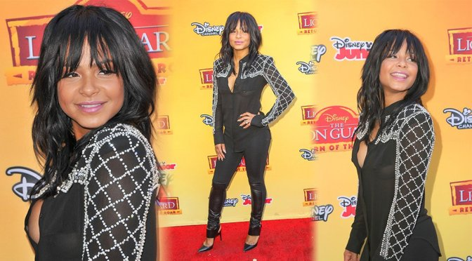 Christina Milian – The Lion Guard Return of the Roar Premiere in Burbank