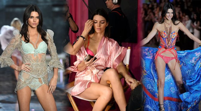 Kendall Jenner – 2015 Victoria's Secret Fashion Show