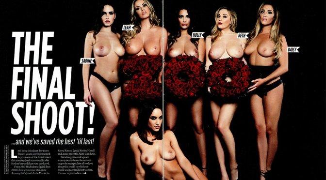 "Rosie Jones & Friends – ""The Final Shoot"" – ZOO Magazine (December 2015)"