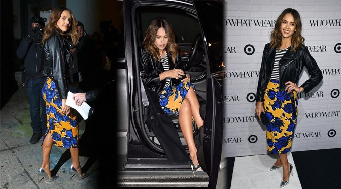 Jessica Alba – Who What Wear x Target Launch Party
