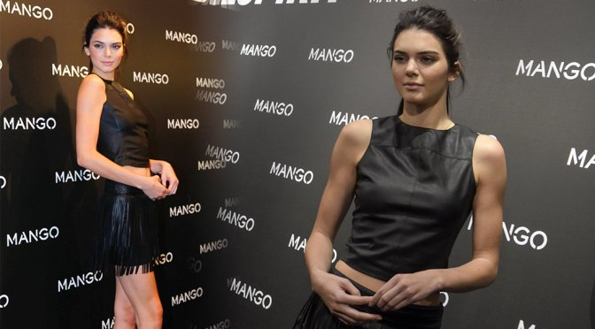 Kendall Jenner – Tribal Spirit By Mango Photocall in Barcelona