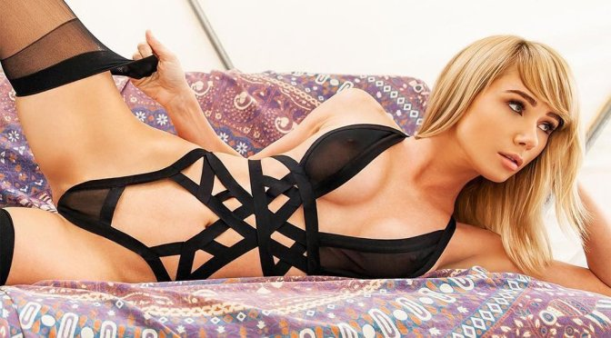 Sara Jean Underwood – See-Through Lingerie Photoshoot