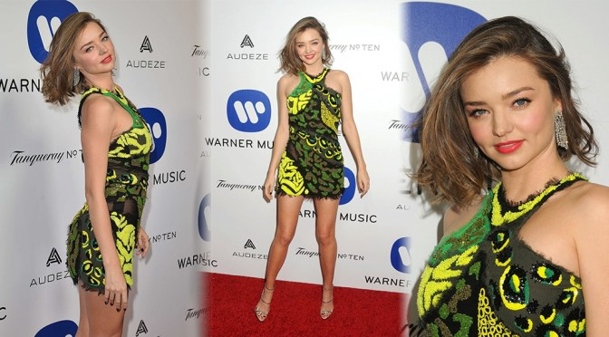 Miranda Kerr – Warner Music Group's Annual Grammy 2016 Celebration