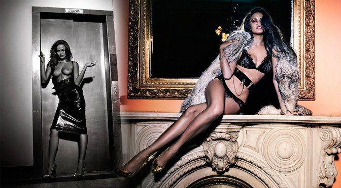 Chrissy Teigen – Topless Photoshoot by Markus & Koala