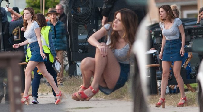 "Bella Thorne – Upskirt Candids on ""You Get Me"" Movie Set"