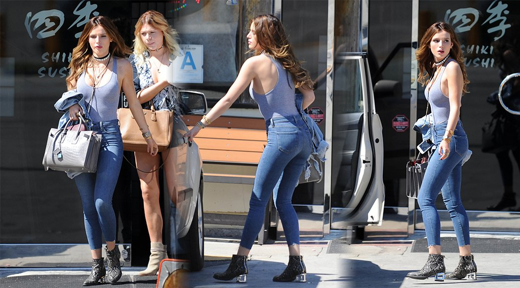 Bella Thorne - Candids in Century City