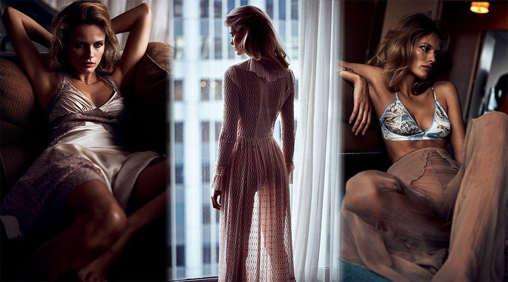 Edita Vilkeviciute - Vogue Japan Magazine Photoshoot (July 2016)
