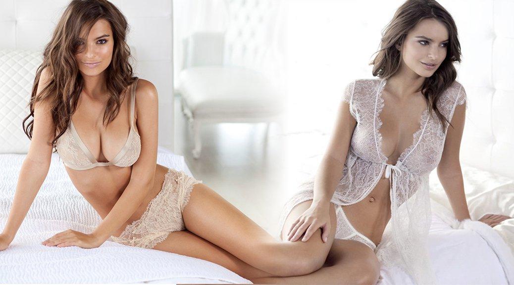 Emily Ratajkowski - Princess Lingerie Photoshoot