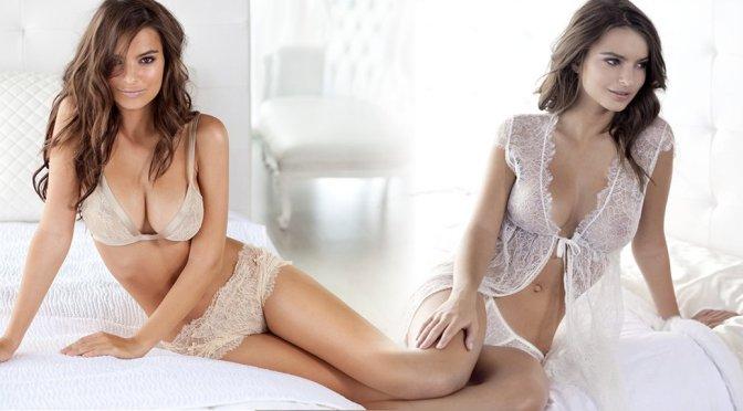 Emily Ratajkowski – Princess Lingerie Photoshoot