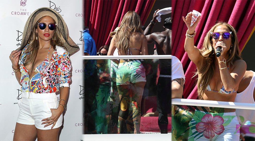 "Jennifer Lopez - ""Carnival Del Sol"" at Drai's Beach Club in Las Vegas"