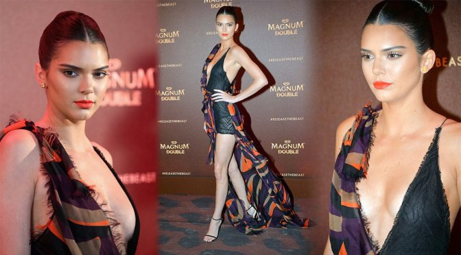 Kendall Jenner – Magnum Doubles Party in Cannes