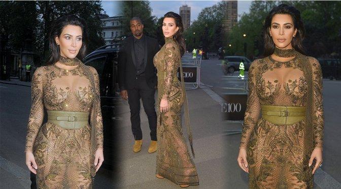 Kim Kardashian – Vogue 100th Anniversary Gala Dinner in London