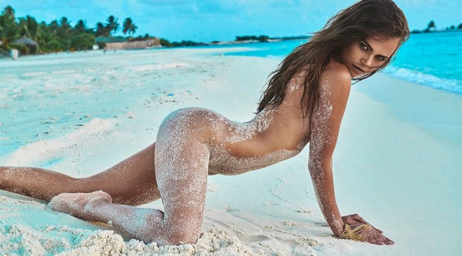 Xenia Deli – Naked Photoshoot by Jacques Weyers