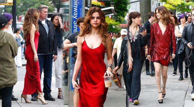Selena Gomez – Photoshoot Candids in New York