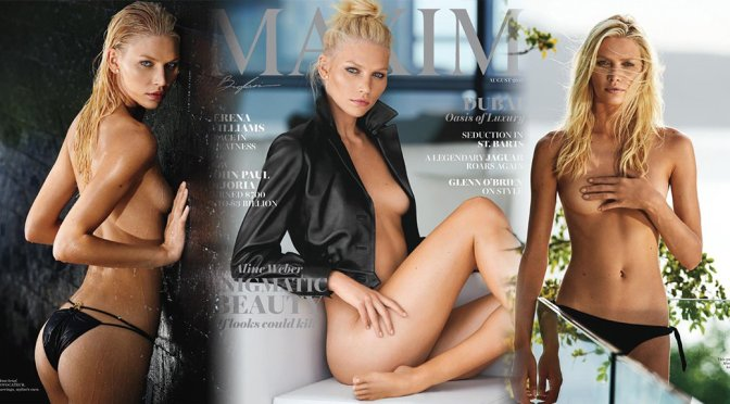 Aline Weber – Maxim Magazine Photoshoot (August 2016)