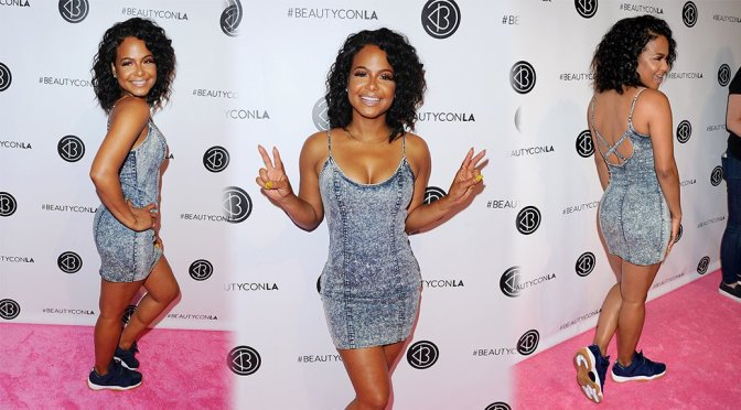 Christina Milian – 5th Annual Beautycon Festival in Los Angeles