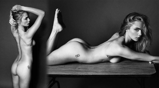 Cara Delevingne – Esquire UK Magazine Naked Photoshoot (September 2016)