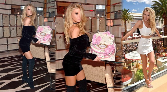 Charlotte McKinney – Birthday Party at Encore Beach Club And Intrigue Nightclub