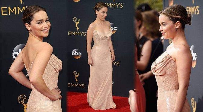 Emilia Clarke – 68th Annual Primetime Emmy Awards