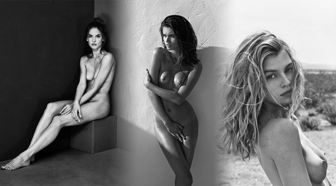"Various Celebs – ""Nude Flowers"" Portraits by Mariano Vivanco"