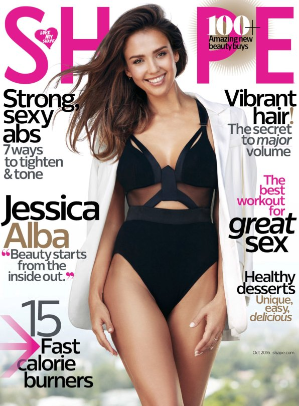 Jessica Alba Shape Magazine | Rachael Edwards