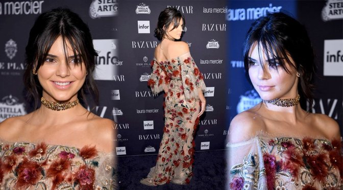 Kendall Jenner – ICONS Party at New York Fashion Week