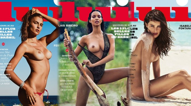 Various Celebs – Lui Magazine Topless Photoshoot (September 2016)