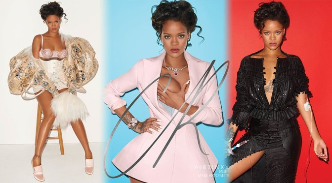 Rihanna – CR Fashion Book Fall-Winter 2016 Photoshoot by Terry Richardson