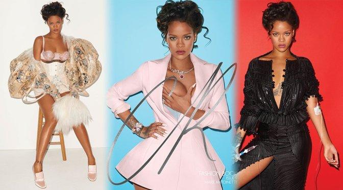 Rihanna – CR Fashion Book Fall-Winter 2016 Photoshoot by Terry Richardson