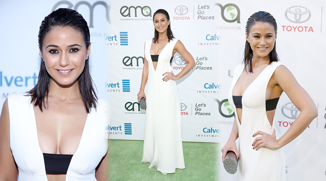 Emmanuelle Chriqui - Environmental Media Association Awards