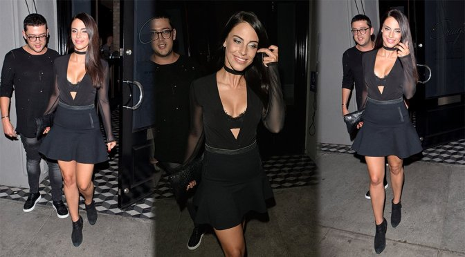 Jessica Lowndes – Candids in West Hollywood