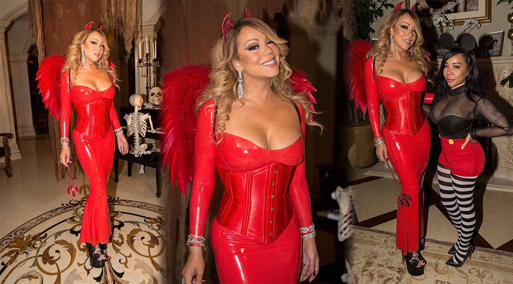 Mariah Carey at Halloween Party
