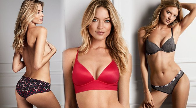 Martha Hunt – Victoria's Secret Lingerie Photoshoot