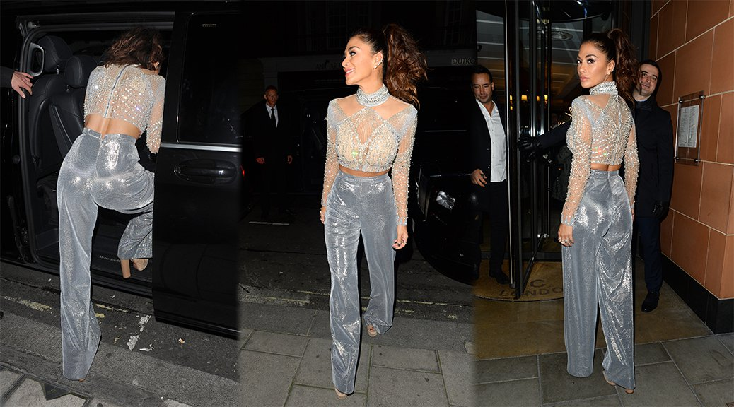 Nicole Scherzinger - Candids in London
