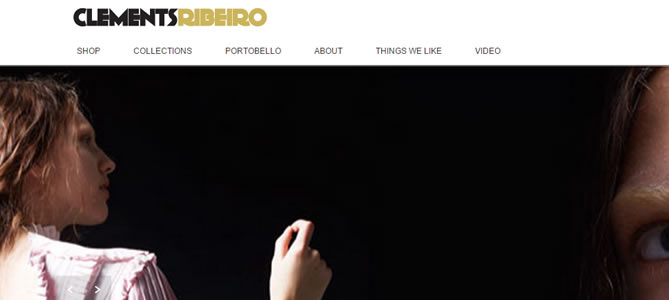 Clements Ribeiro : Fashion e-commerce store