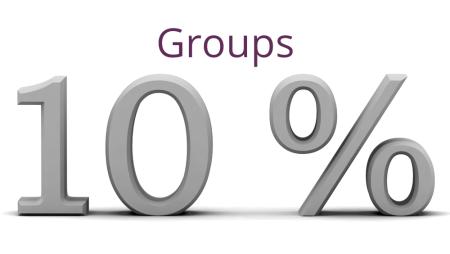 Descuento Especial para Grupos