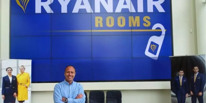 Ryanair to launch hotel booking site