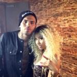 Chris Brown en Nicki Minaj nemen clip op
