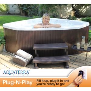 Round Shape Home And Garden 4 Person 14 Jet Plug And Play Spa