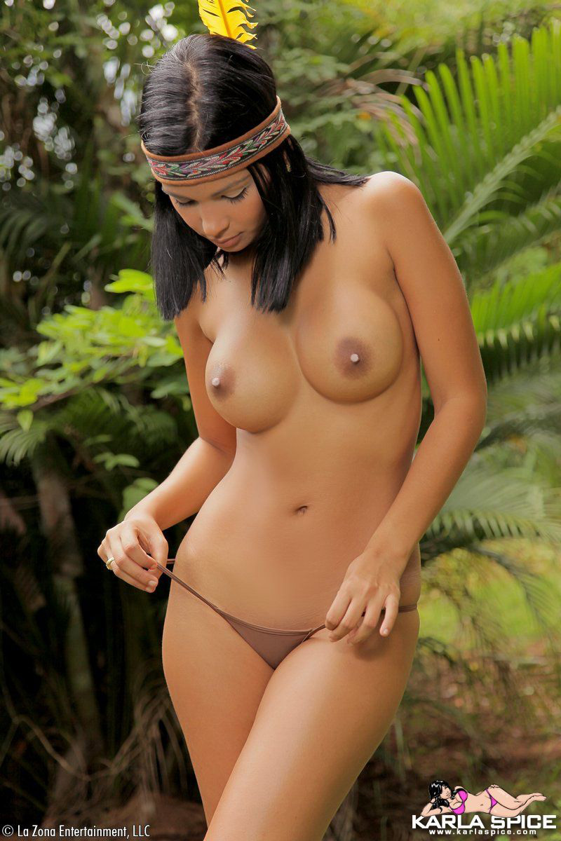 south american naked women