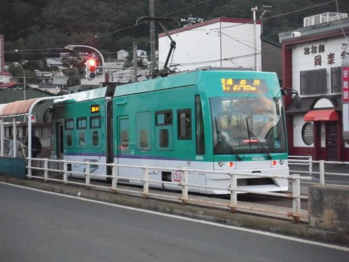 新幹線カラーにデザインされた車両
